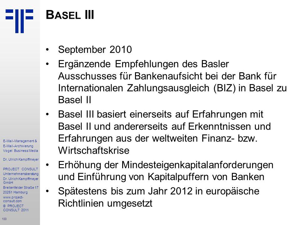 Basel III September 2010.