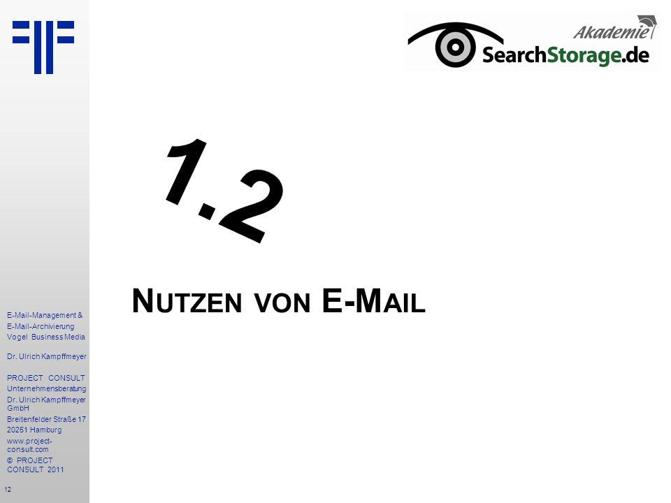 1.2 Nutzen von E-Mail