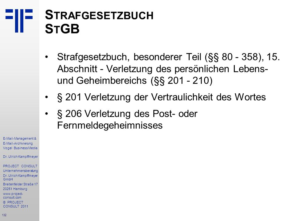 Strafgesetzbuch StGB