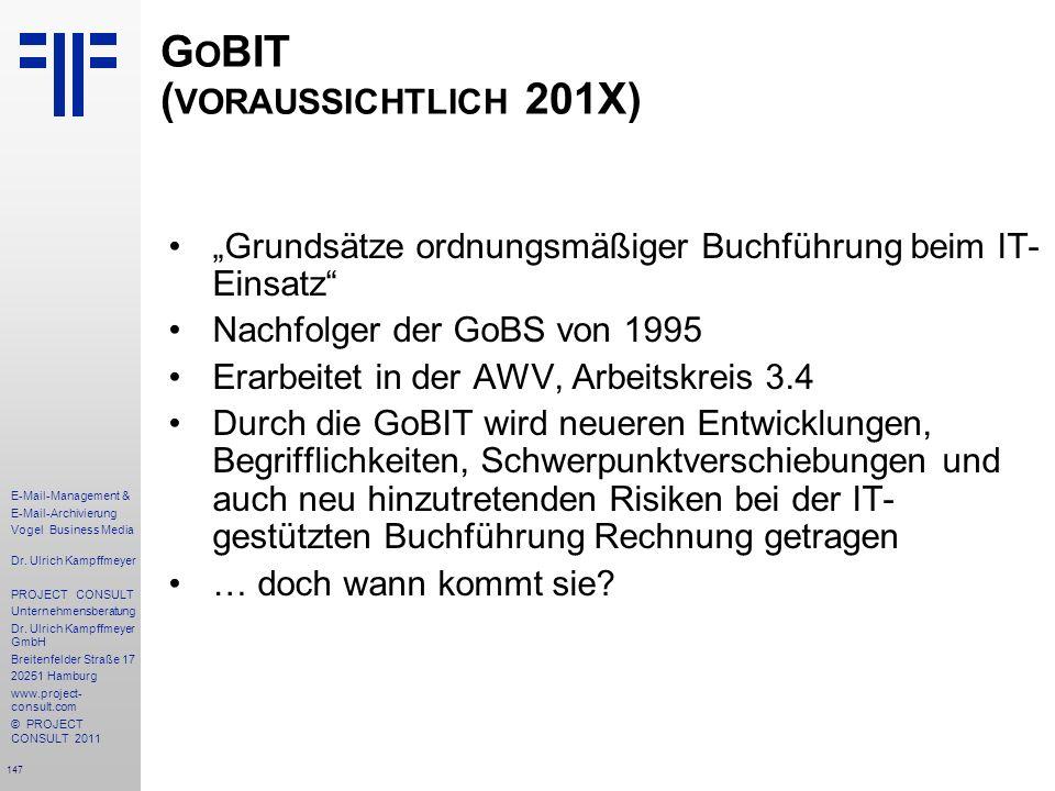 GoBIT (voraussichtlich 201X)