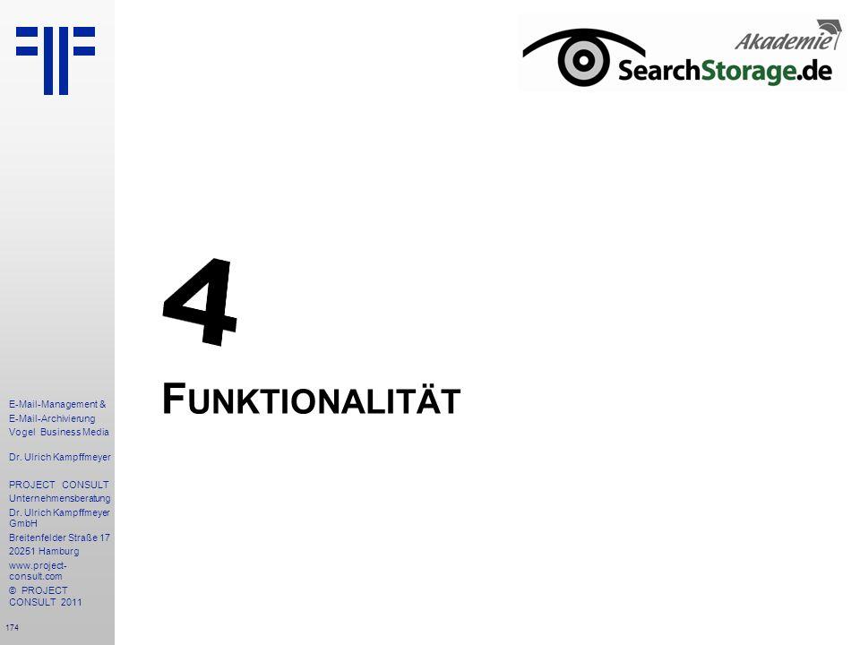 4 Funktionalität