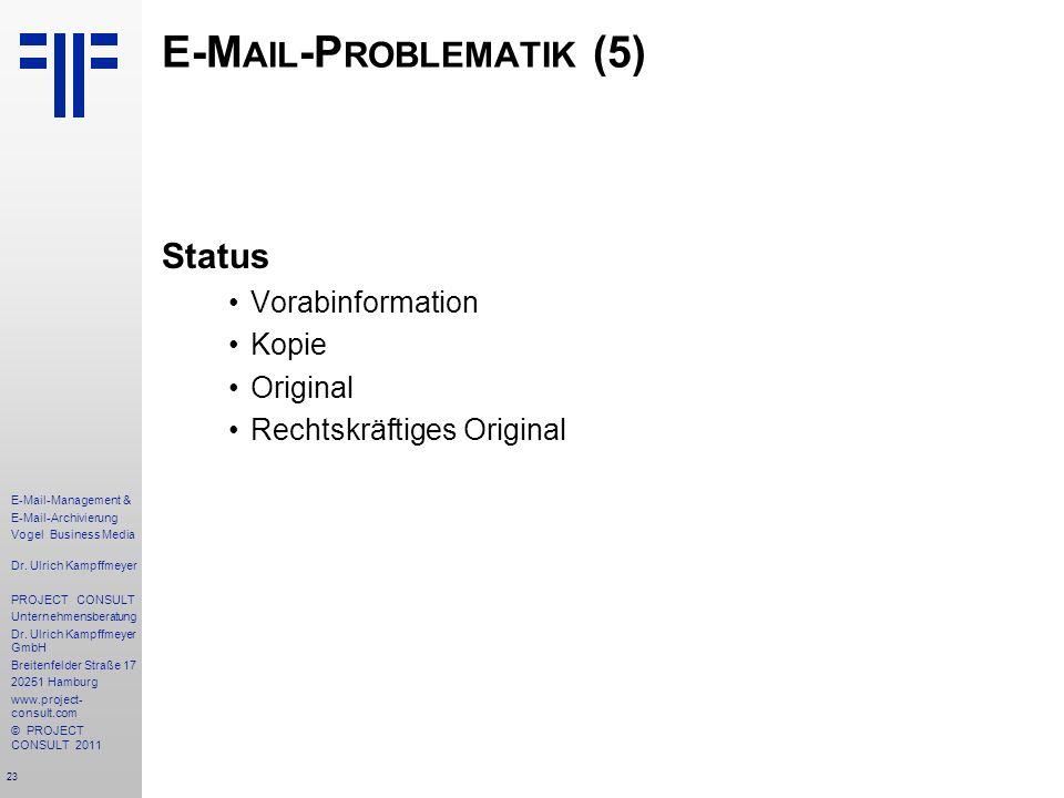 E-Mail-Problematik (5)
