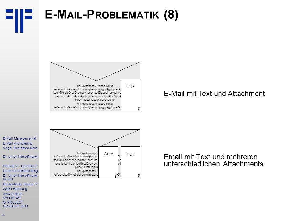 E-Mail-Problematik (8)