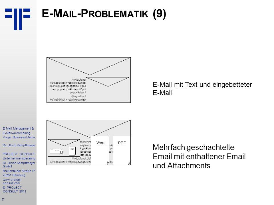 E-Mail-Problematik (9)