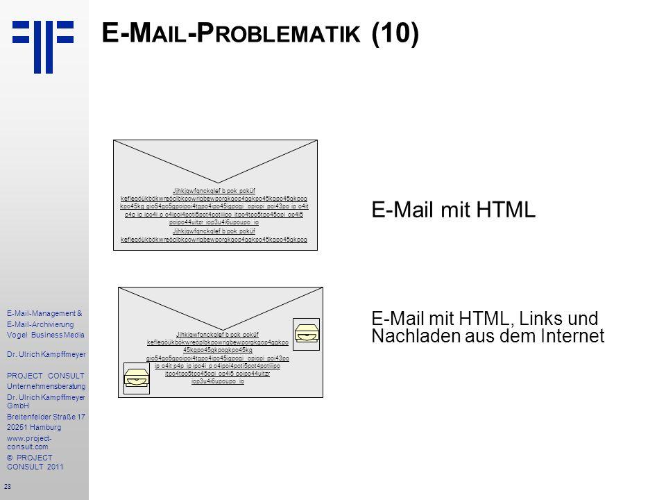 E-Mail-Problematik (10)