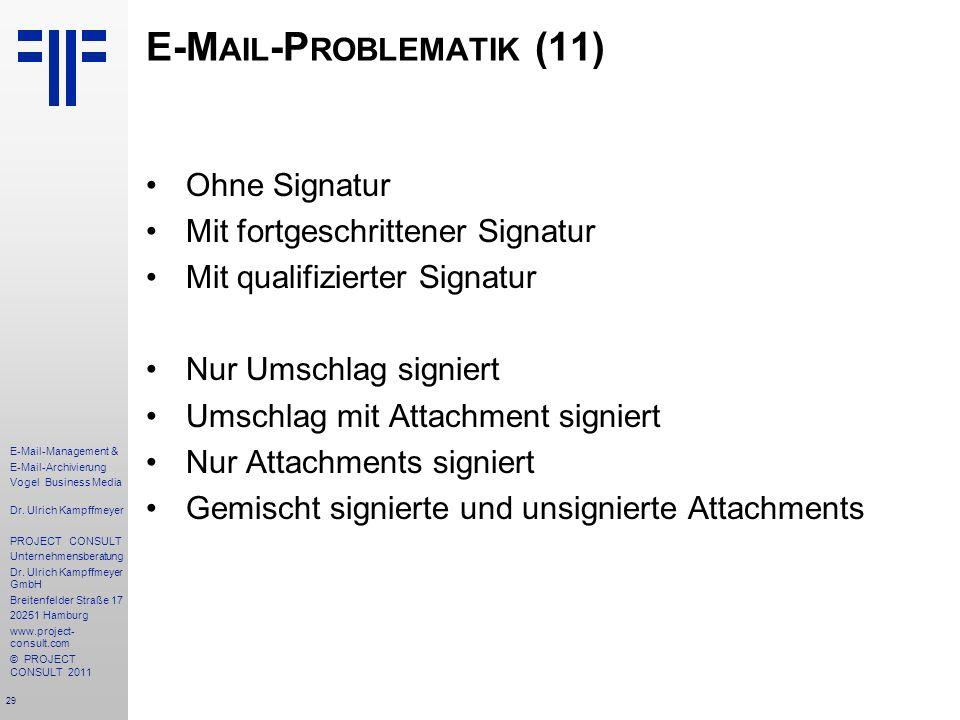 E-Mail-Problematik (11)