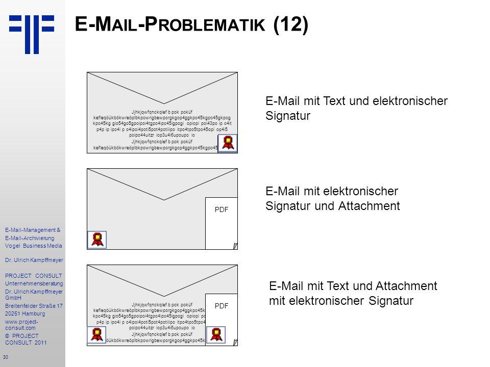 E-Mail-Problematik (12)