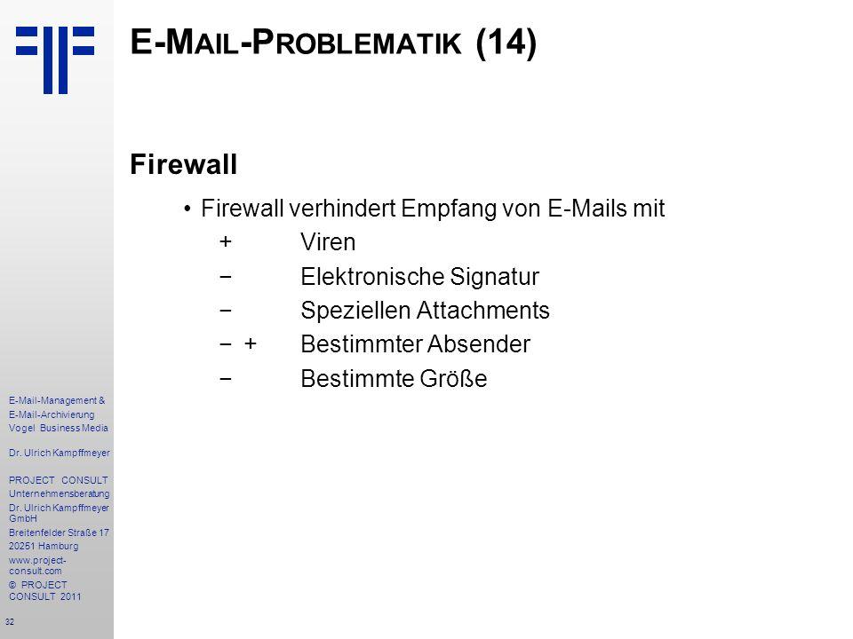 E-Mail-Problematik (14)