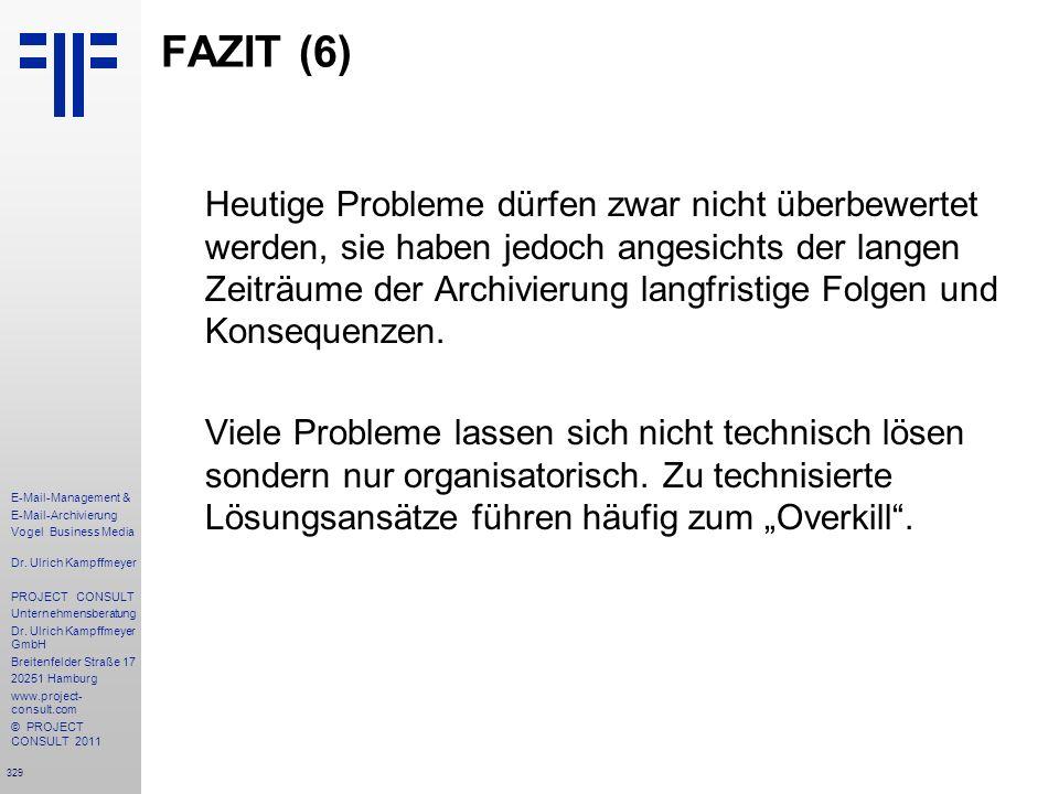 FAZIT (6)