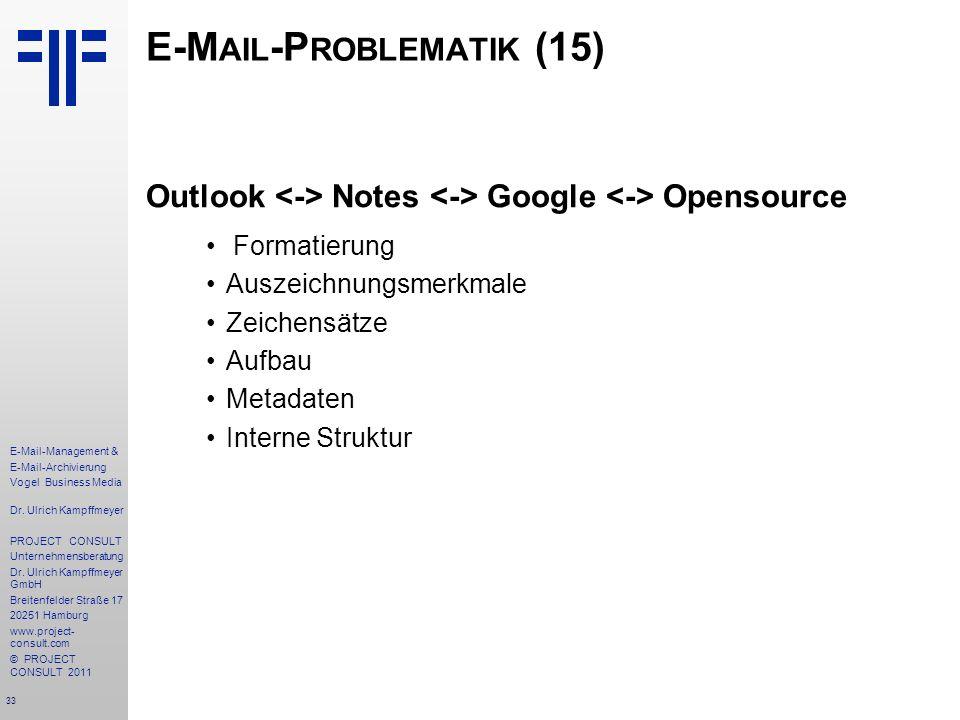 E-Mail-Problematik (15)
