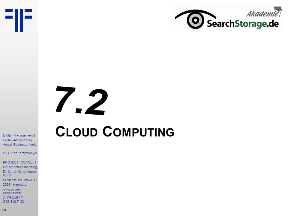 7.2 Cloud Computing