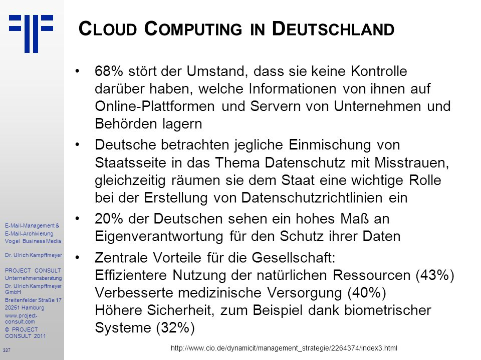 Cloud Computing in Deutschland