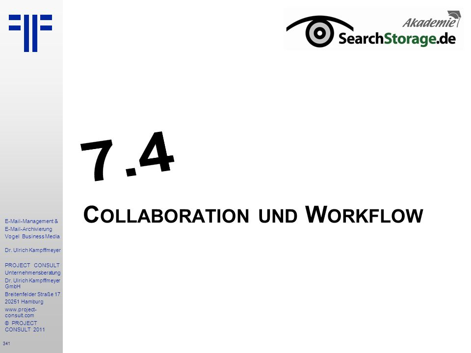 Collaboration und Workflow