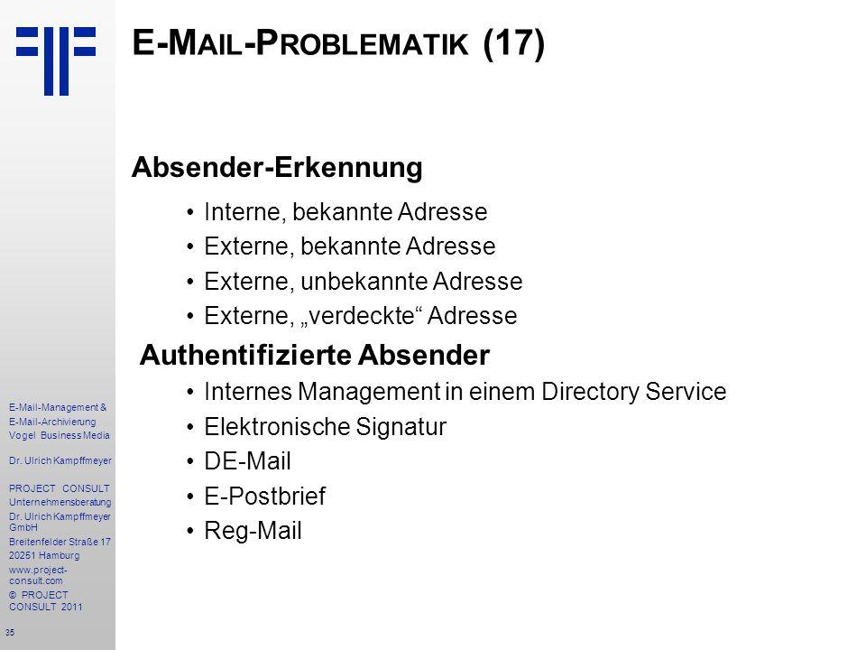 E-Mail-Problematik (17)