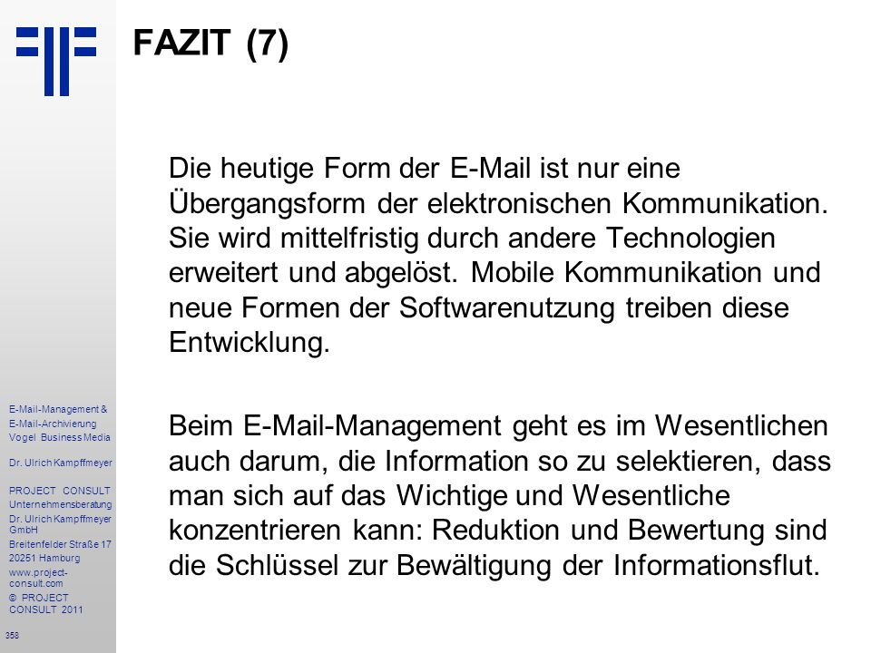 FAZIT (7)