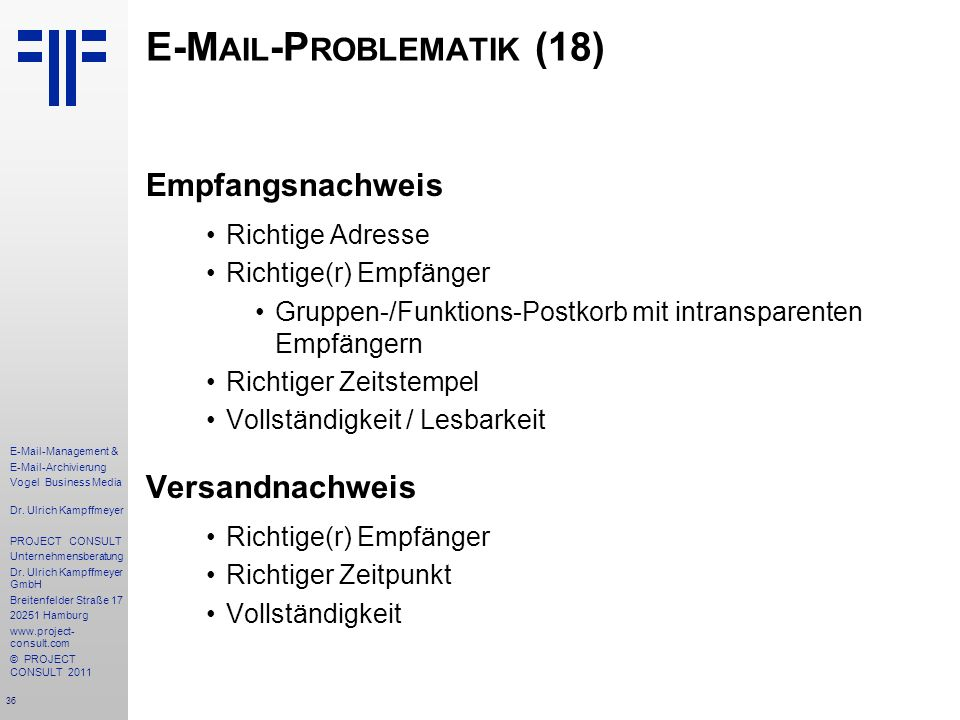 E-Mail-Problematik (18)
