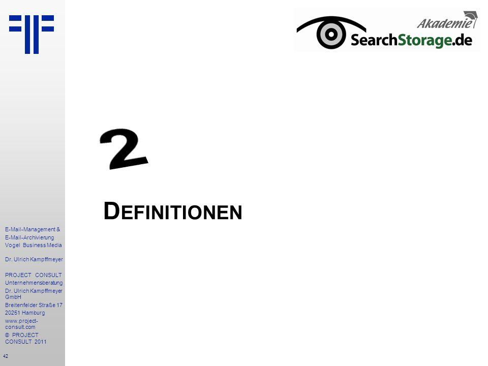 2 Definitionen