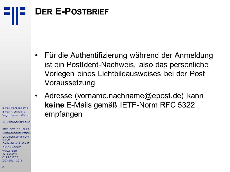 Der E-Postbrief