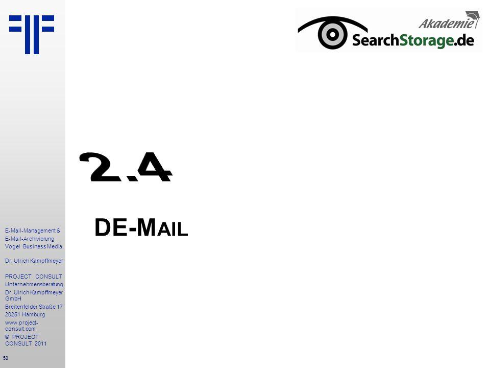 2.4 DE-Mail