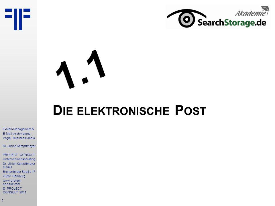 Die elektronische Post