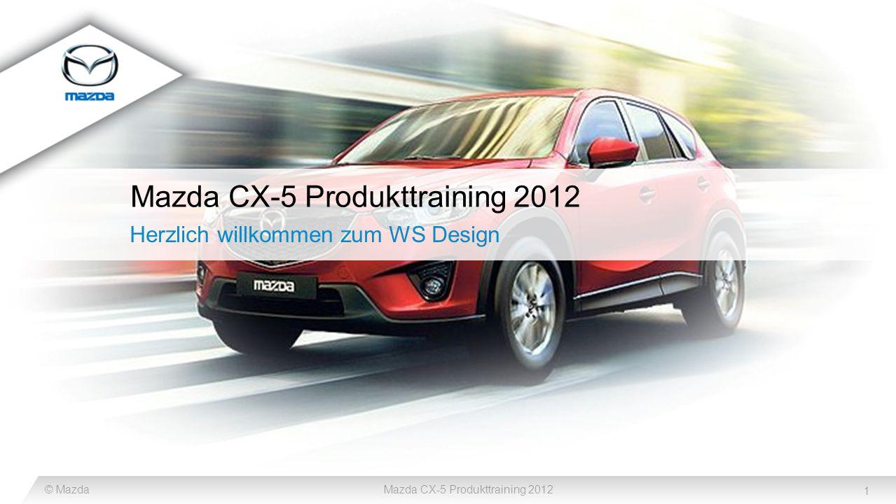 Mazda CX-5 Produkttraining 2012