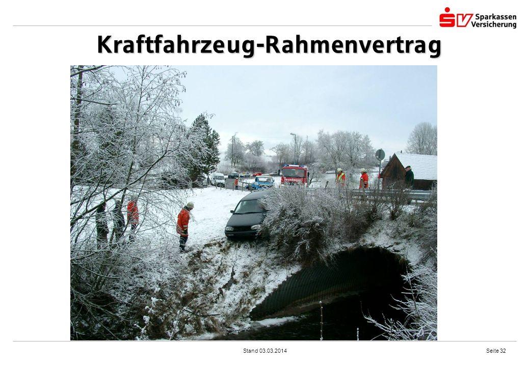 Kraftfahrzeug-Rahmenvertrag