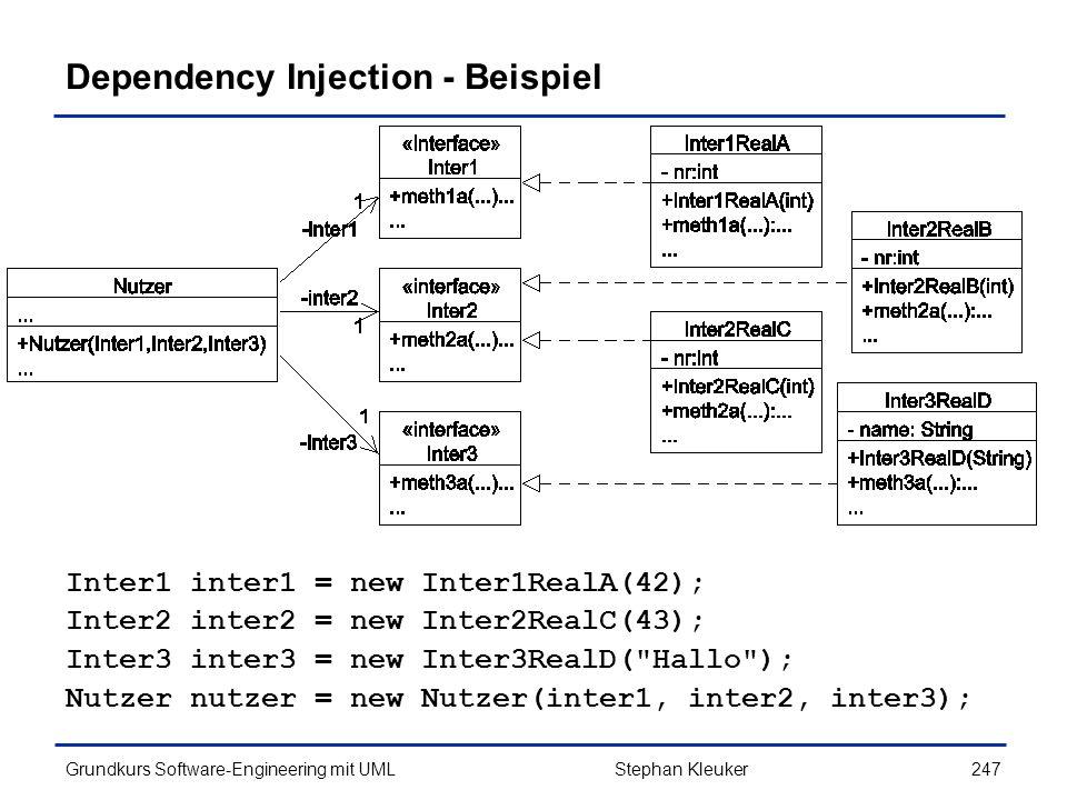 Dependency Injection - Beispiel