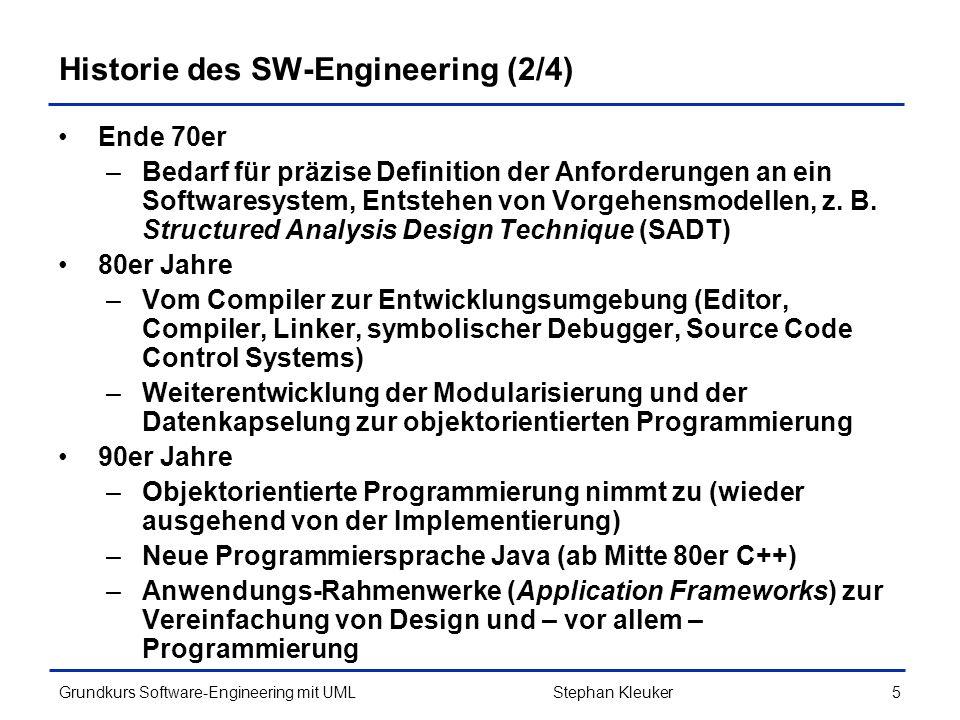 Historie des SW-Engineering (2/4)