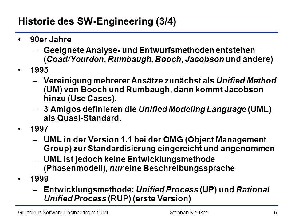 Historie des SW-Engineering (3/4)