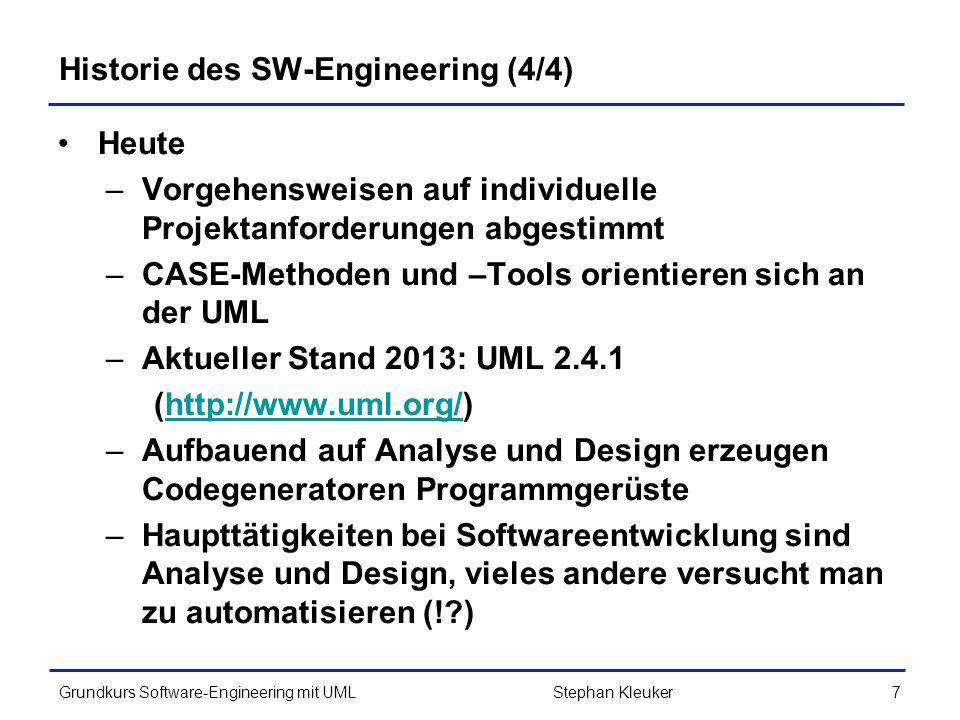 Historie des SW-Engineering (4/4)