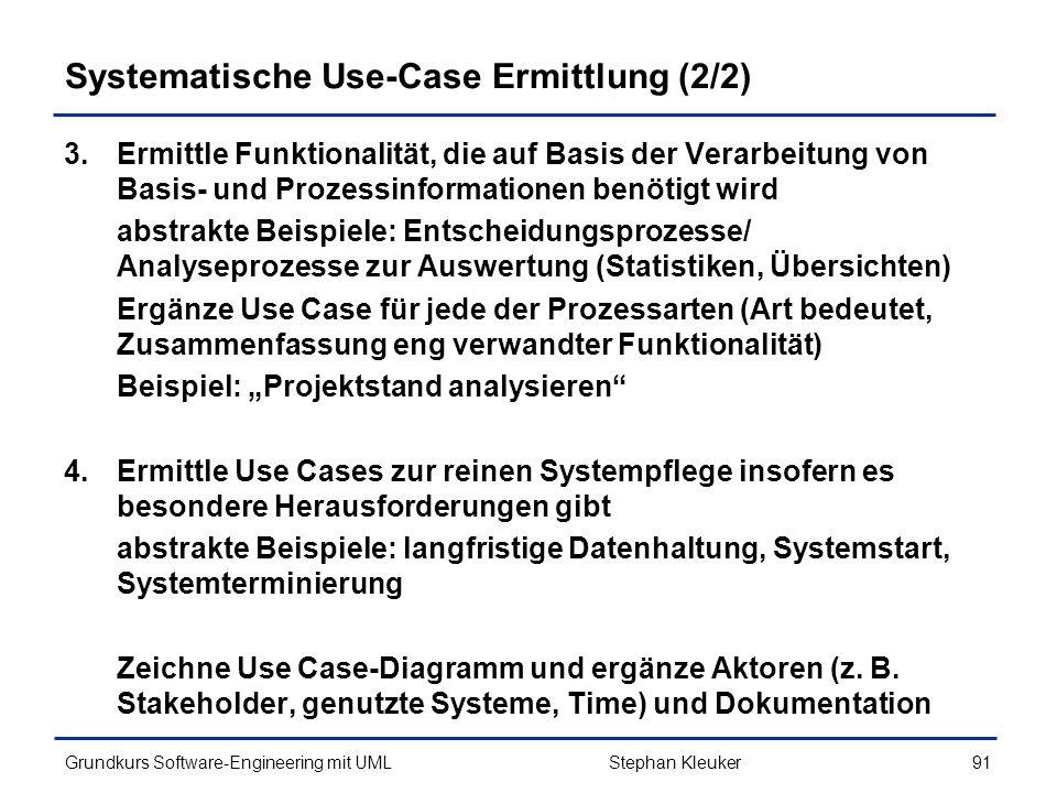 Systematische Use-Case Ermittlung (2/2)