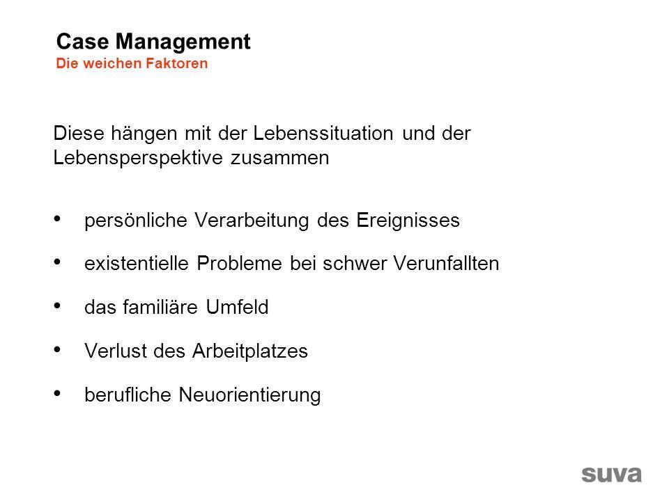 Case Management Die weichen Faktoren