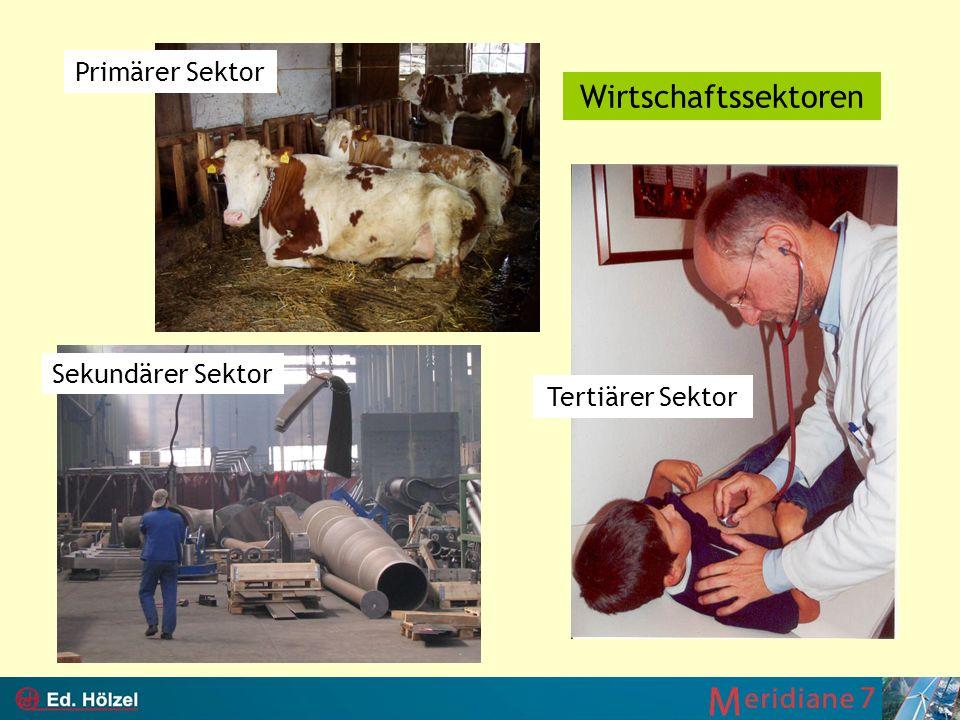 Primärer Sektor Wirtschaftssektoren Sekundärer Sektor Tertiärer Sektor
