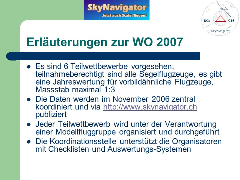 Erläuterungen zur WO 2007