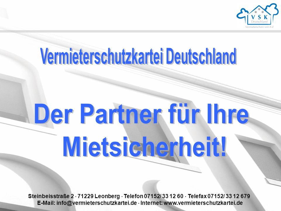 Vermieterschutzkartei Deutschland