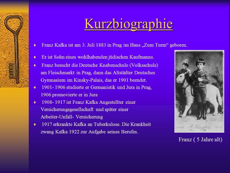 Kurzbiographie Franz ( 5 Jahre alt)