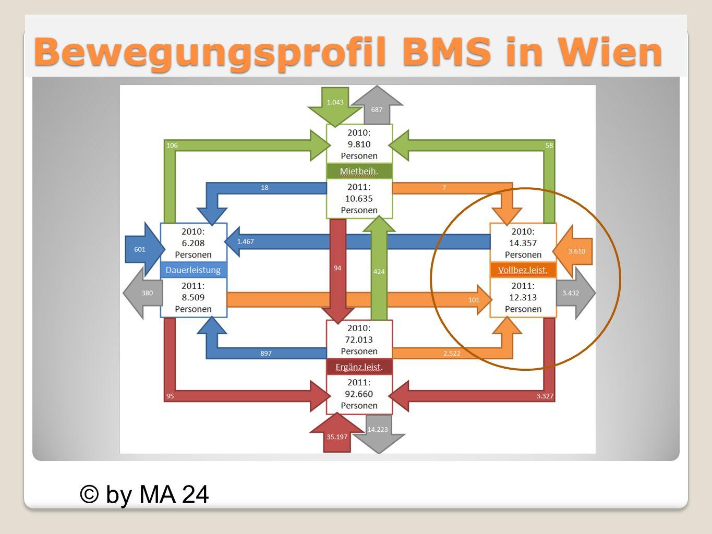 Bewegungsprofil BMS in Wien