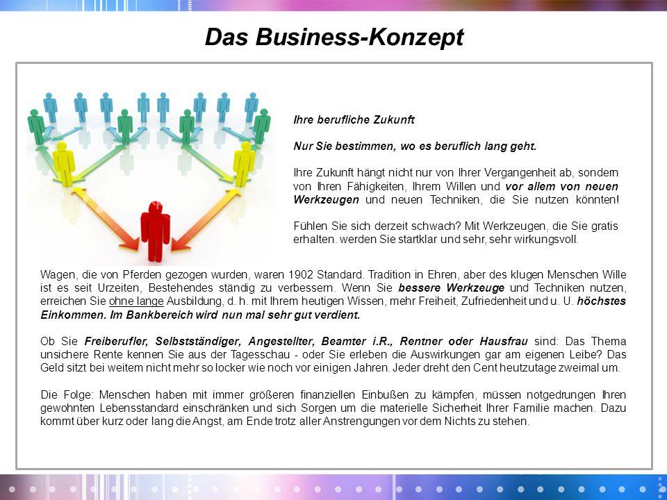Das Business-Konzept Ihre berufliche Zukunft