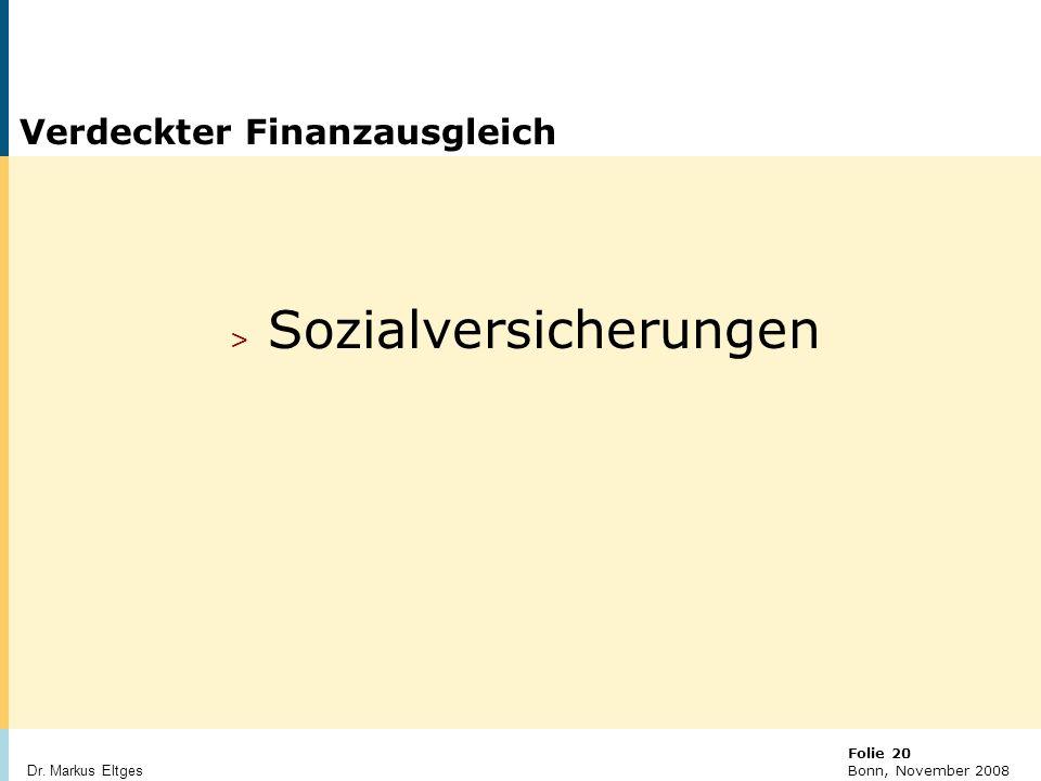 Verdeckter Finanzausgleich