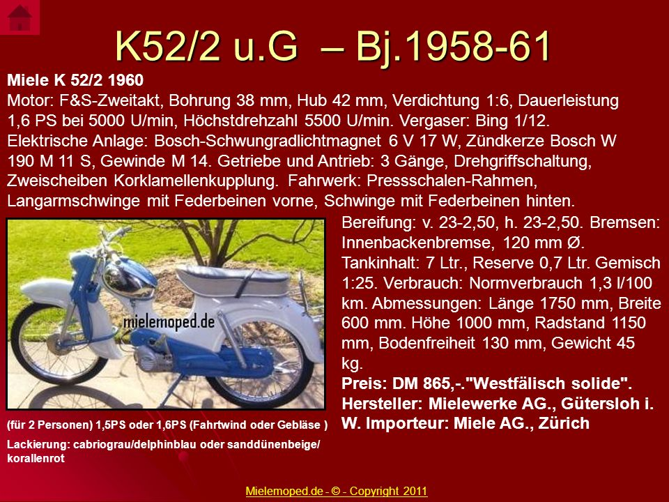 Mielemoped.de - © - Copyright 2011