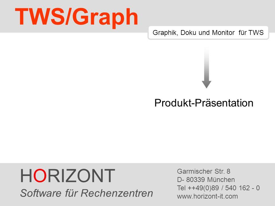 TWS/Graph HORIZONT Produkt-Präsentation Software für Rechenzentren