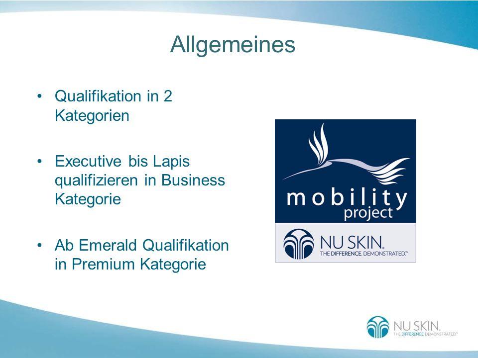 Allgemeines Qualifikation in 2 Kategorien