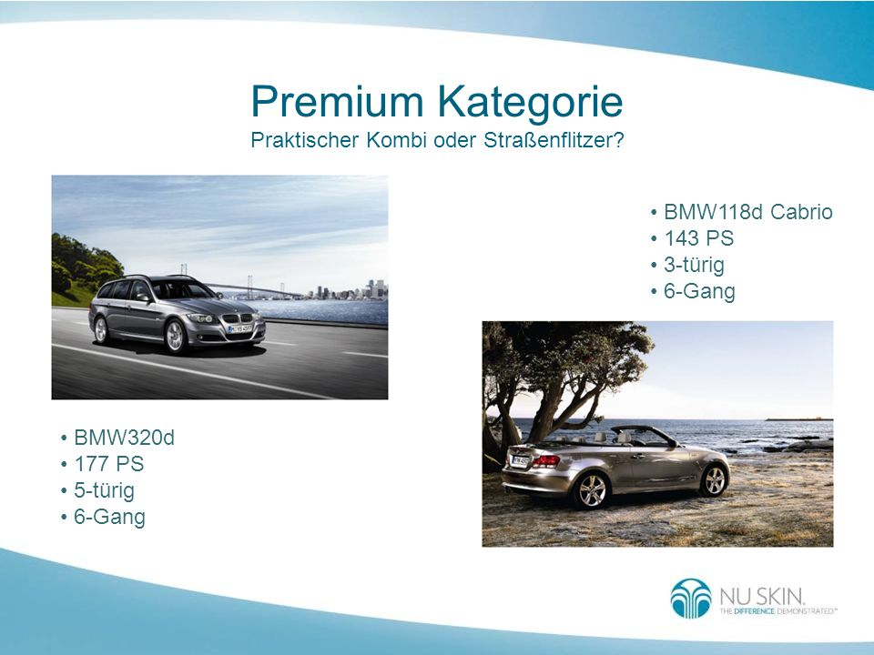 Premium Kategorie Praktischer Kombi oder Straßenflitzer