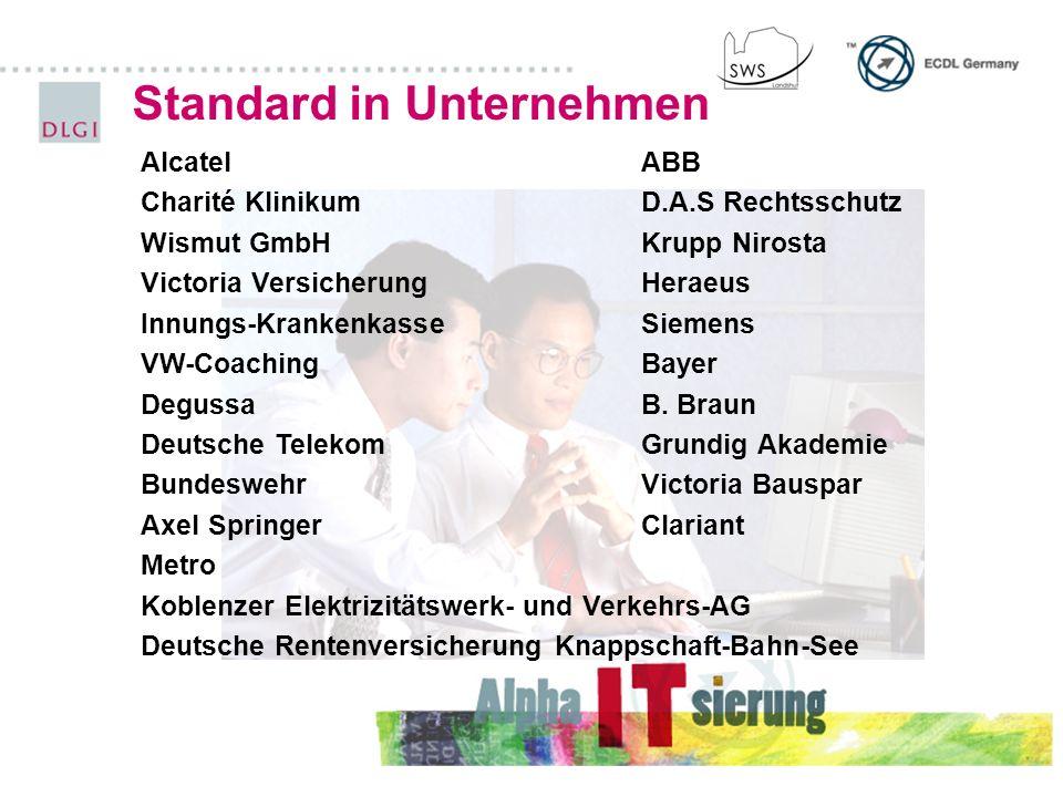 Standard in Unternehmen