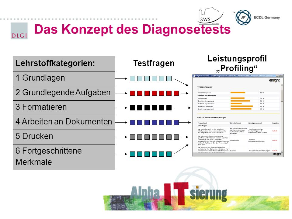 Das Konzept des Diagnosetests