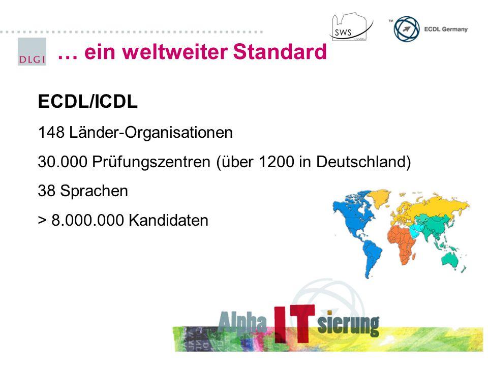 … ein weltweiter Standard