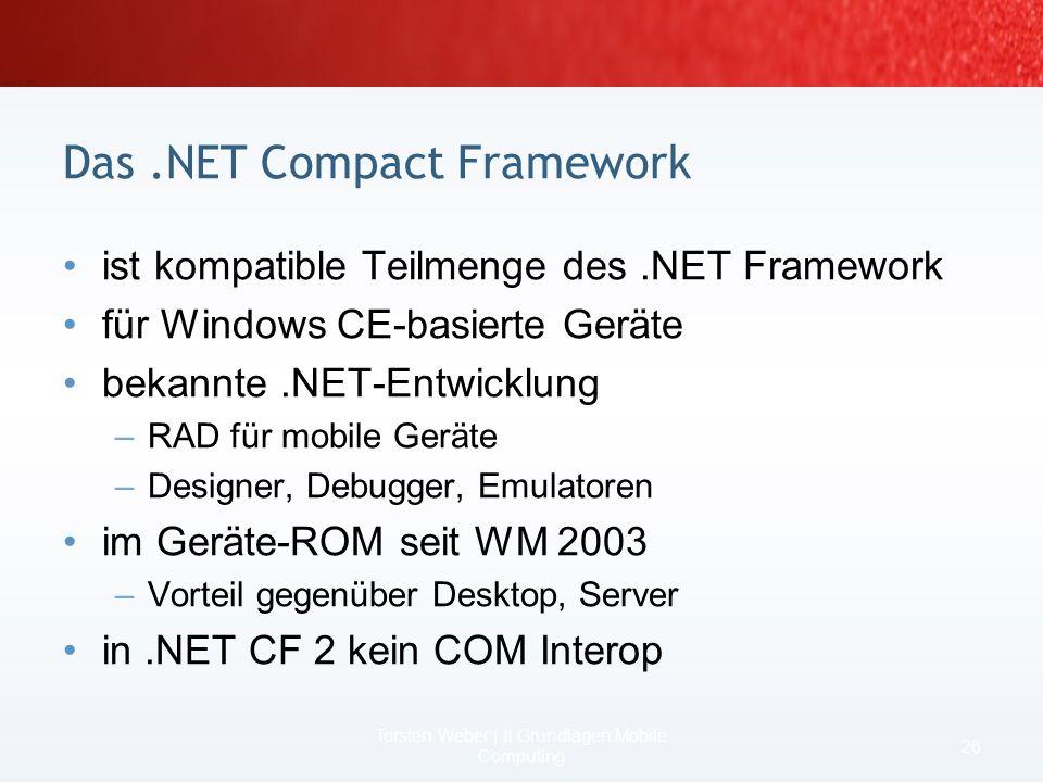 Das .NET Compact Framework