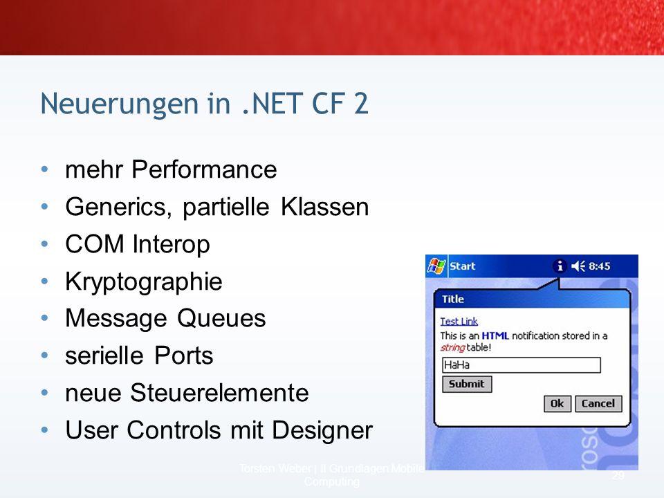 Torsten Weber | II Grundlagen Mobile Computing