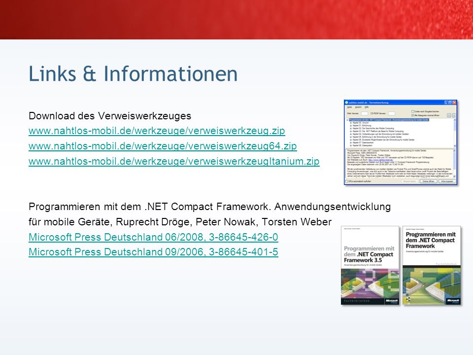 Links & Informationen