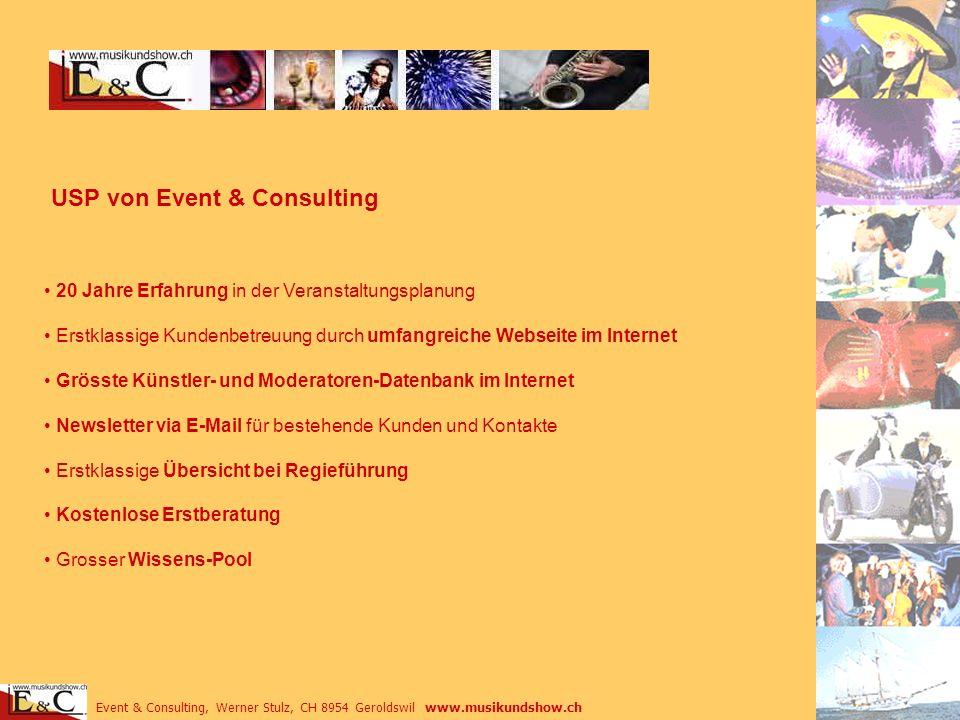 USP von Event & Consulting
